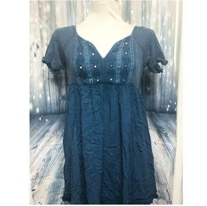 Free People •  blue dress